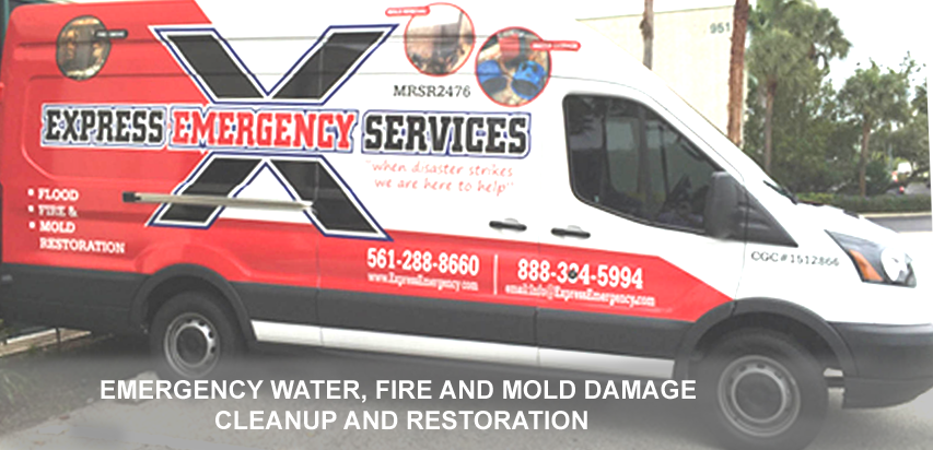 Company Van Express Emergency Water Damage Services