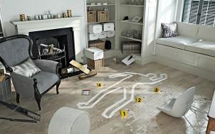 Crime Scene At Home